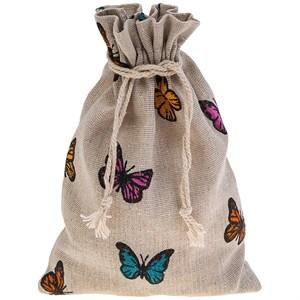 """Мешочек """"Бабочки"""" 14х20 см"""