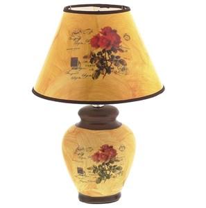"""Лампа настольная """"Розы"""" 37 см"""