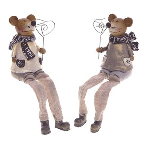 """Статуэтка """"Мышка"""" с держателем для фото в ассортименте"""