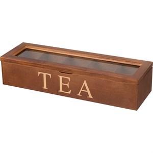 Шкатулка на чайных пакетиков на пять отделений