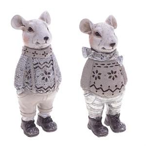 """Статуэтка """"Мышь в шарфе"""", цена за штуку"""