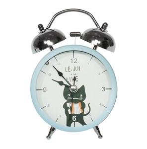 """Часы настольные """"Котик"""" с будильником"""