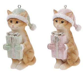 "Елочная игрушка ""Кошка"", цена за штуку"