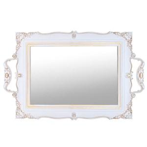 Поднос зеркальный 42х26 см