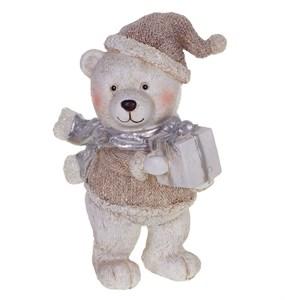 """Статуэтка """"Медведь с подарком"""""""