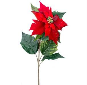 """Цветок искусственный """"Пуансетия"""""""