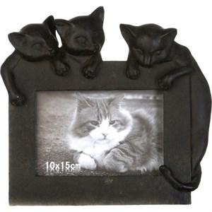 """Фоторамка """"Коты"""" для фотографии 10х15 см"""