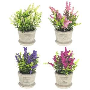 Цветы искусственные в вазе, цена за штуку