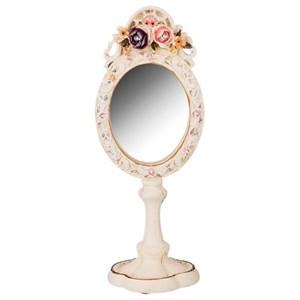 """Зеркало настольное """"Розы"""""""