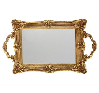 Поднос зеркальный 32х19 см