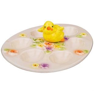 """Подставка для пасхальных яиц """"Цыпленок"""""""