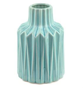 Ваза керамическая рифленая 20 см