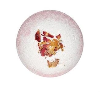Шар бурлящий для ванной с лепестками роз