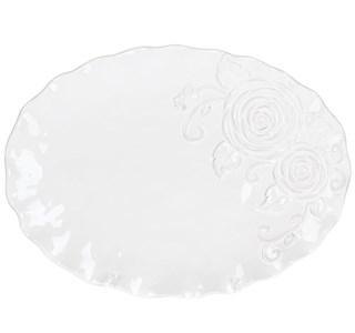 """Тарелка """"Роза"""" 35х26 см"""