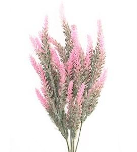 Лаванда искусственная розовая 35 см