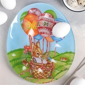 """Подставка для яиц """"Пасхальный кролик"""" на 10 ячеек"""