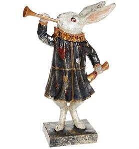 """Статуэтка """"Кролик с трубой"""""""