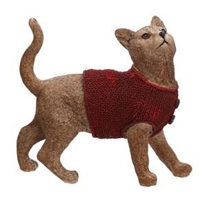 "Статуэтка ""Кошка в свитере"""