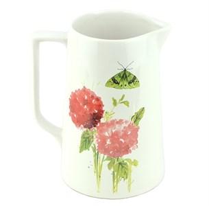 """Кувшин керамический """"Цветы"""" 1500 мл"""