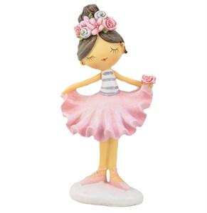 """Статуэтка """"Девочка в розовом платье"""""""