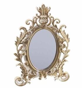 Зеркало настольное резное