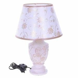 """Лампа настольная """"Белые цветы"""""""