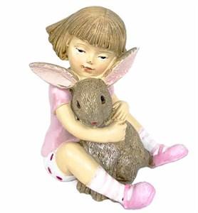 "Статуэтка ""Малыш с зайцем"""