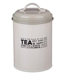 """Банка """"Чай"""" металлическая для сыпучих и хранения"""