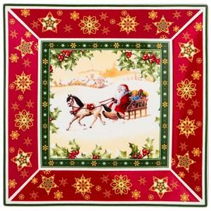 """Блюдо """"Дед Мороз на санях"""" в подарочной упаковке"""