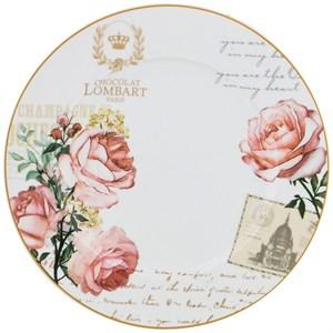 """Тарелка """"Цветы Парижа"""" 27 см"""