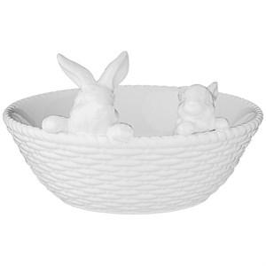 """Блюдо """"Кролики"""" 23 см"""