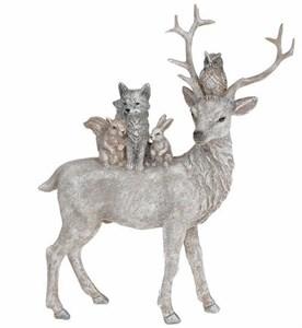"""Статуэтка """"Лесные звери"""" 21 см"""