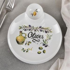 "Блюдо для подачи с соусом ""Олива"""