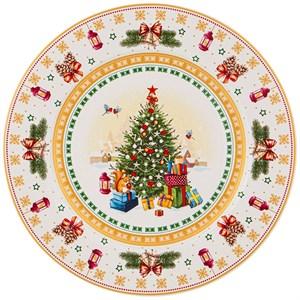 "Тарелка ""Новогодняя елка"" 26 см"