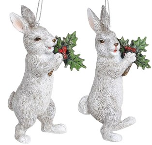 "Елочная игрушка ""Кролик"", цена за штуку"