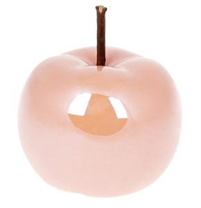 "Статуэтка ""Яблоко"" розовое 10 см"