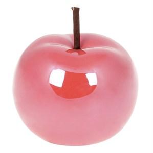 """Статуэтка """"Яблоко"""" темно-розовое 10 см"""