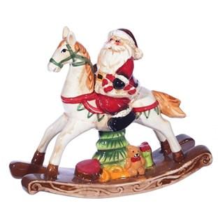 "Статуэтка ""Дед Мороз на лошади"""