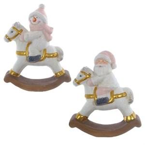 """Статуэтка """"Дед Мороз"""", """"Снеговик"""", цена за штуку"""