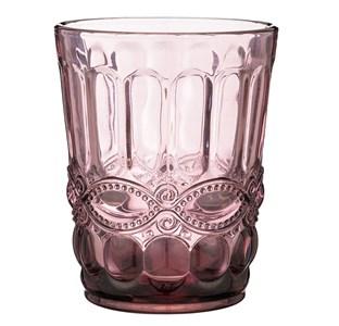 """Стакан """"Франция"""" 270 мл розовый из цветного стекла"""