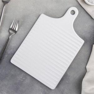 Блюдо керамическое для подачи 18*28 см