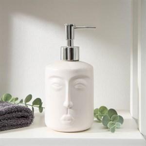 Дозатор для жидкого мыла 300 мл белый