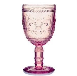 """Бокал """"Царский"""" розовый 250 мл из цветного стекла"""