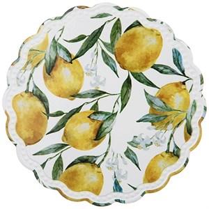 """Подставка под горячее """"Лимоны"""" 20 см"""