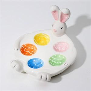 """Подставка для яйца """"Кролик"""" на 5 ячеек"""