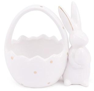 Кролик с корзинкой