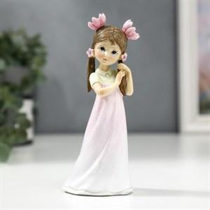 """Статуэтка """"Девочка с цветами в волосах"""""""