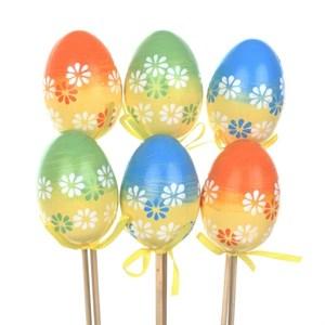 Набор декоративных яиц для кулича в ассортименте
