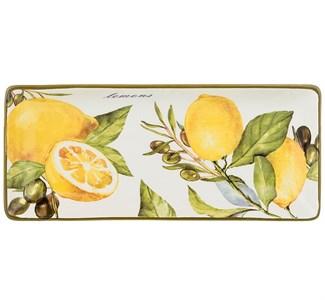 """Блюдо """"Лимоны 28х12 см"""