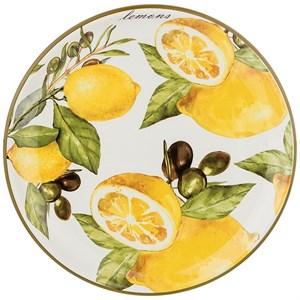 """Блюдо """"Лимоны 26 см"""